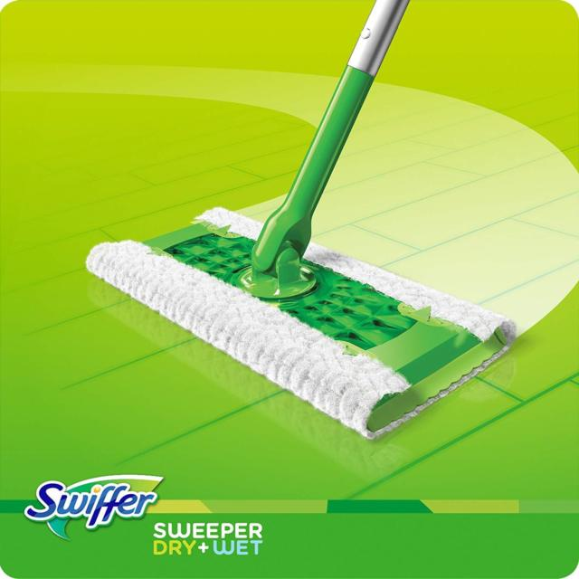 Swiffer Sweeper Floor Sweeper Mop + Dusters 3 in 1 Cleaning Starter Kit Surface Care