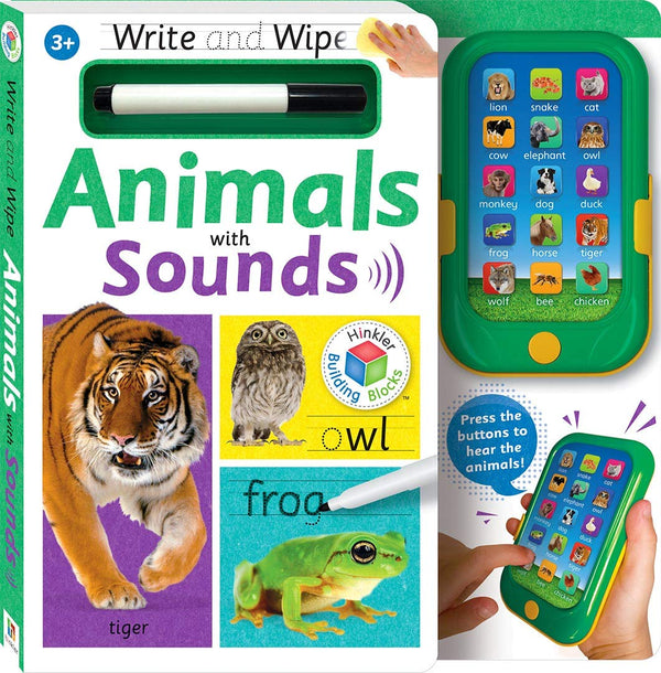 Write and Wipe Animals with Sounds
