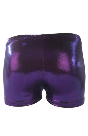 Gymnast Shorts Amethyst Back