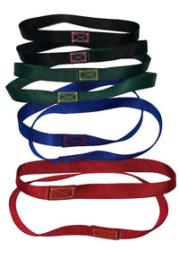 Gymnastic Straps Red, Blue, Green and Black