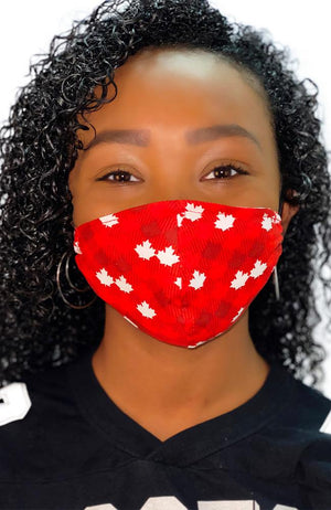 Face Mask Non-Medical Maple Leaf