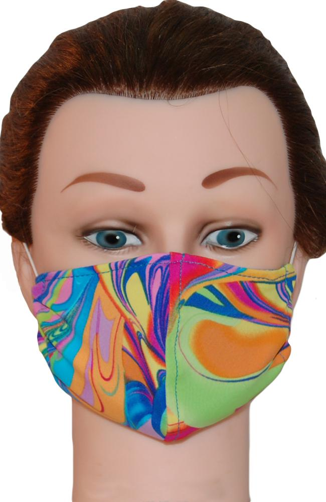 Face Mask Non-Medical Peacock