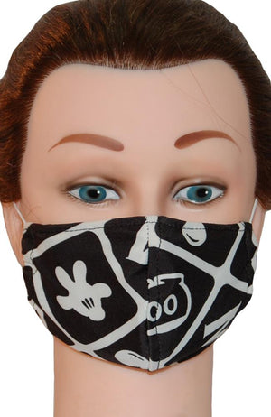 Face Mask Non-Medical Retro Mickey