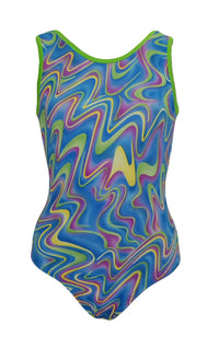 RIBBONS GYMNASTIC LEOTARD