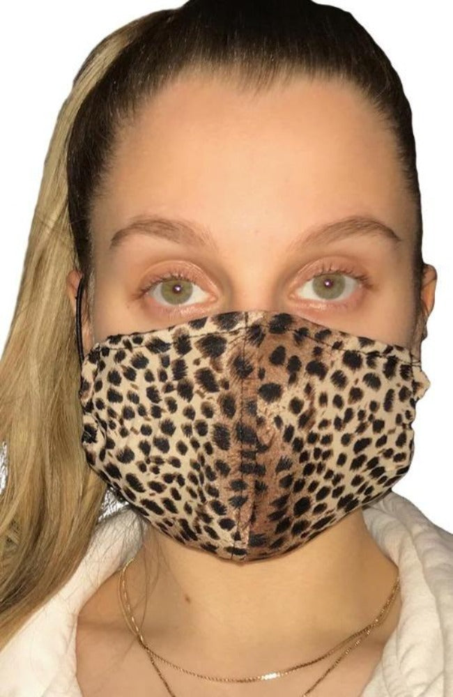 Face Mask Non-Medical Cheetah