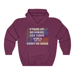 Use Your Voice Unisex Heavy Blend™ Hooded Sweatshirt