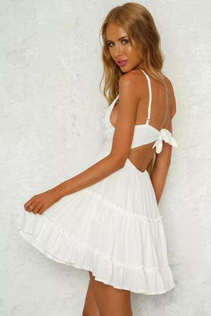 Carola Lace Sundress