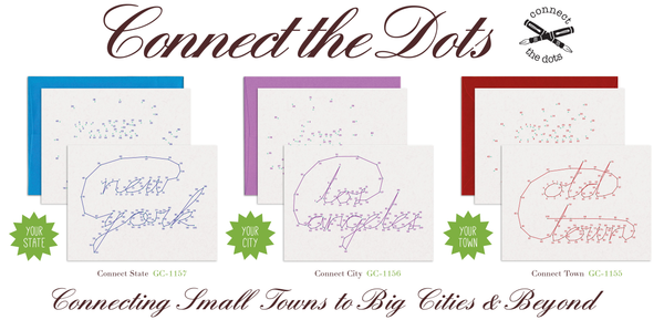 Warren Tales Connect The Dots Custom Greeting Cards