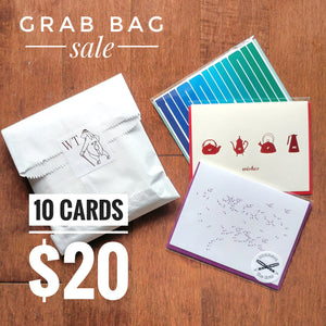 SALE - Grab Bag (10 Assorted Cards)
