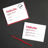 SALE - Haikutie Love Card (Interactive)