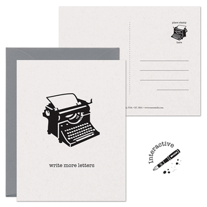 SALE - Write More Letters 2-in-1 Card