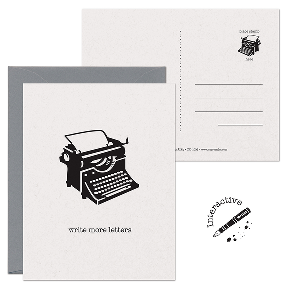 CLEARANCE - Write More Letters 2-in-1 Card