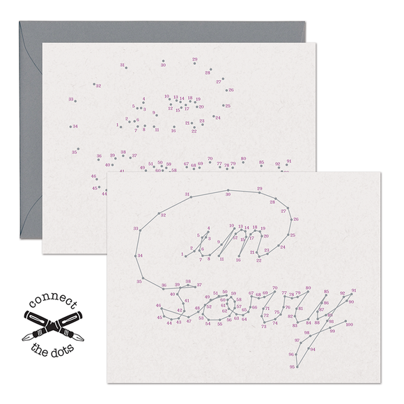 SALE - Connect the Dots:  I'm Sorry Card