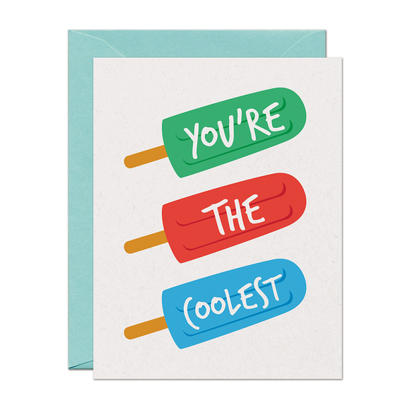 SALE - You're The Coolest Card