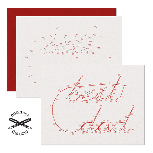 Connect the Dots:  Best Dad Card