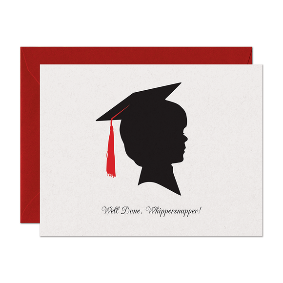 CLEARANCE - Whippersnapper Graduation Card