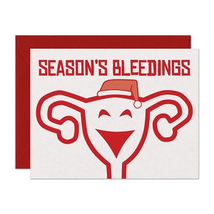 Season's Bleedings Holiday Card