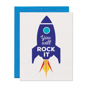 CLEARANCE - Rock It Encouragement Card