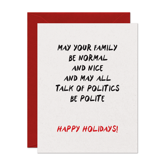 Family Holiday Card