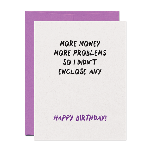 Birthday Problems Card