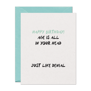 Birthday Denial Card