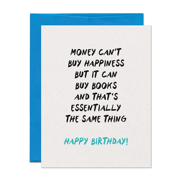 Birthday Money Card