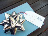 SALE - Paper Air Gift Tag Set (10 Tags)