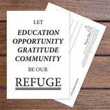 Refuge Postcard Set (10 Cards) — #CivilRightNow