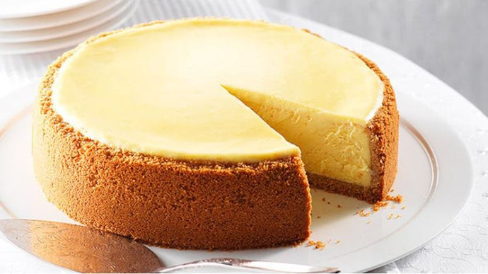New York Style Cheesecake - (Rs 1850/ Kg, Minimum Order 1 Kg)