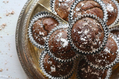 Cocoa Muffins (Rs 60/piece, Minimum -12 nos)