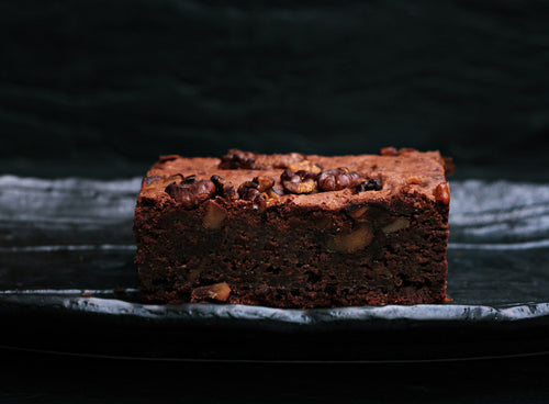 Fudge Walnut Brownies