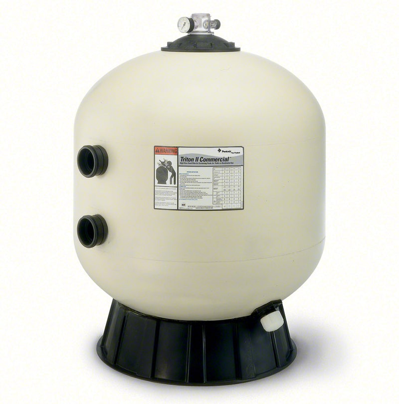 Pentair Triton TR100C 30 Inch High Capacity Side Mount Sand Filter 74 GPM 140315