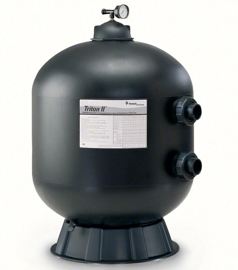 Pentair Triton TR100HD 30 Inch Heavy-Duty Side Mount Sand Filter 74 GPM 140335