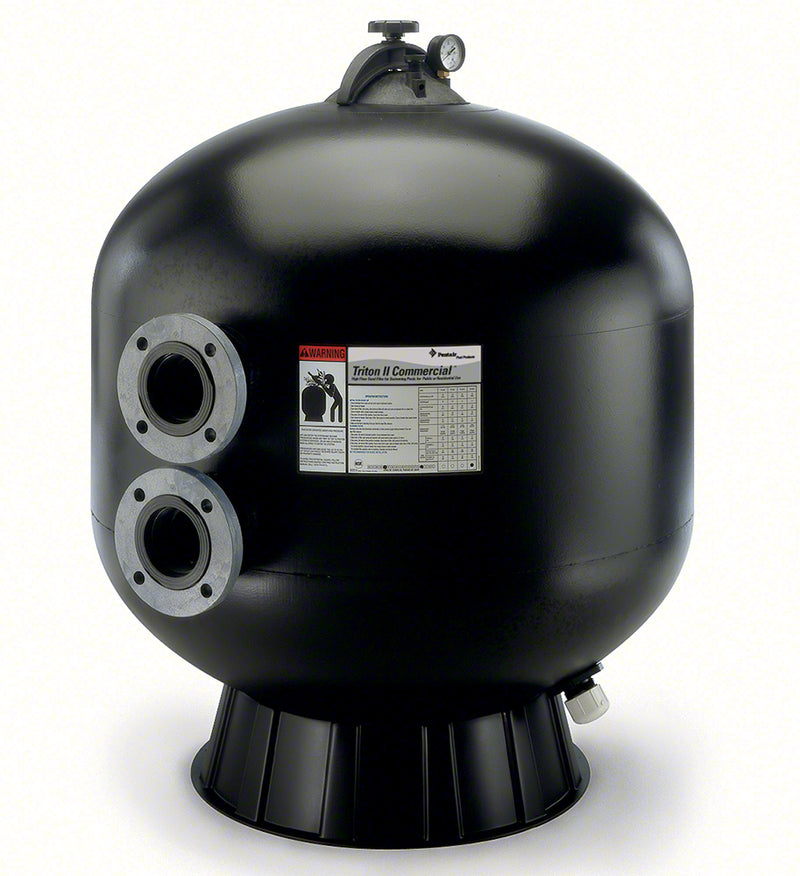 Pentair Triton TR140C-3 36 Inch High Capacity Side Mount Flanged Sand Filter 106 GPM 140342