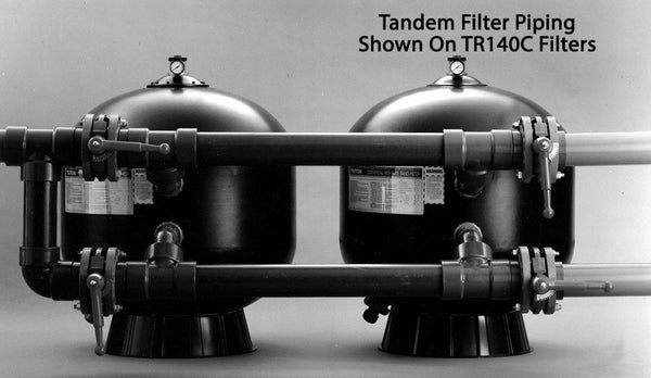 TR100C/TR140C Tandem Filter Piping Kits