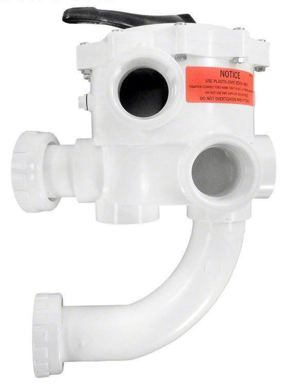 Sta-Rite ABS Multiport 6-Position Control Valve 1-1/2 Inch Side Mount (PLDE Series) 90 GPM 18202-0250