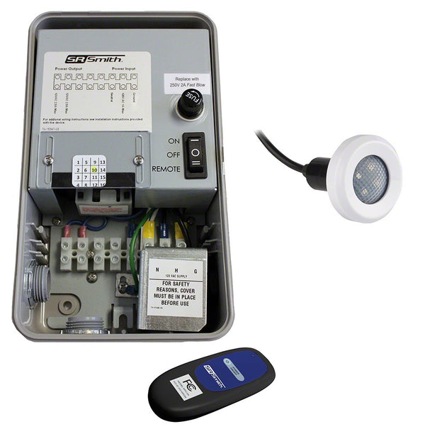 WIR-TRAN Wireless Pool Light Controllers with Treo Lights