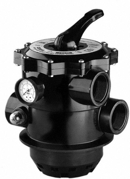 Pentair Tagelus TA HiFlow Multiport Valve 1-1/2 Inch Top Mount With TA to TA-D Conversion Kit - 6 Inch Neck 262505