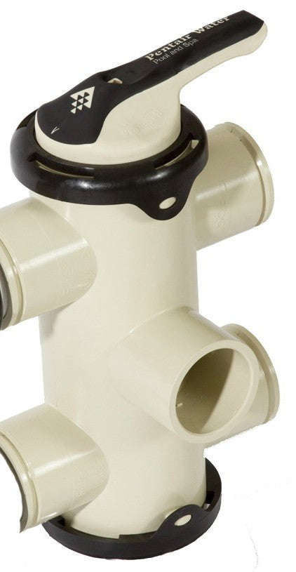 Pentair FullFloXF Backwash Valve 3 Inch Side Mount - Inlet Port onTop (D.E.) - No Fittings or Unions 262509