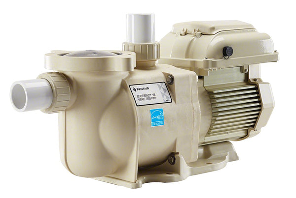 Pentair Superflo VS Variable Speed Pump 1-1/2 HP Energy Efficient 115/208-230V - 1-1/2 Inch 342001