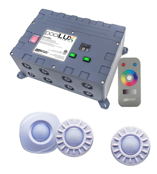PoolLUX Premier LED Pool Light Controller With Mod-Lites RGB Lights