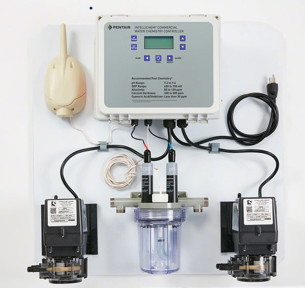 Pentair IntelliChem Pool Chemistry Controller - 2 Pump System 522578