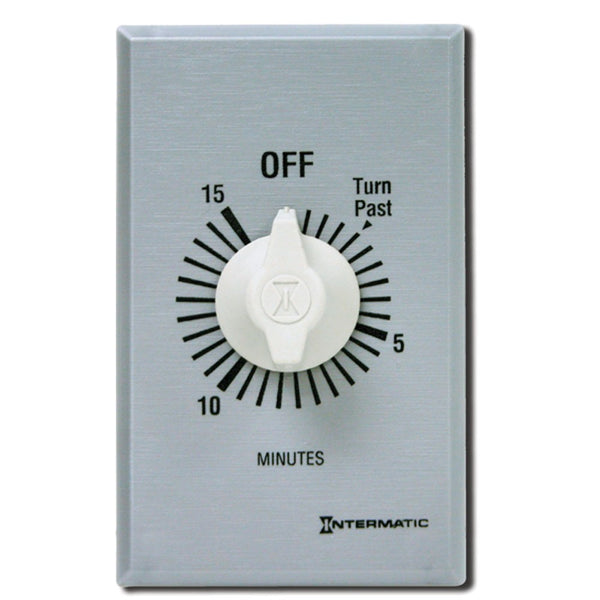 Intermatic Commercial Auto-Off Timer, 30 Minute DPST 125-277V 897-FF430M