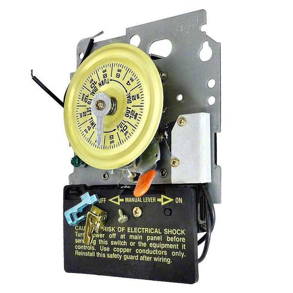 Intermatic Mechanical Time Switch Mechanism Only 208-277V DPST With Heater Cutoff 897-T104M201