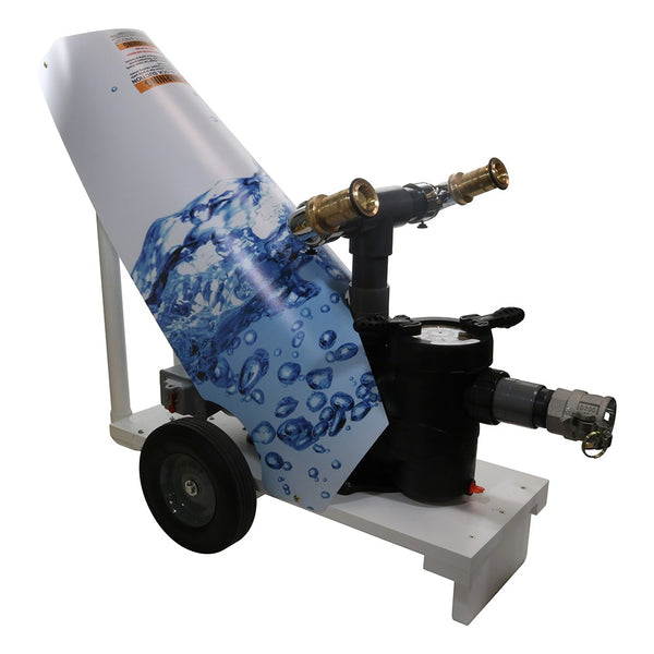 1.25 HP Pool Water Cooling Cannon - 115V with 50 Foot Cord and Cart AQWC101520A-V011.25 HP Pool Water Cooling Cannon - 115V with 50 Foot Cord and Cart AQWC101520A-V01