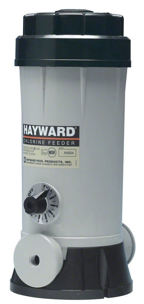Hayward Automatic Offline Aboveground Pool Chlorine Feeder - 4.2 Lb Capacity CL110Abg