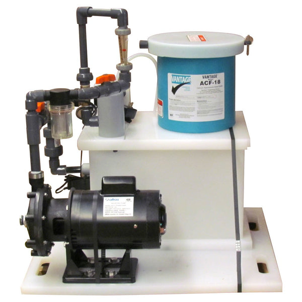 Vantage ACF18 Feeder For Cal Hypo Tabs Up To 50K Gallons With Pump - 18 Lb. Capacity E023018S
