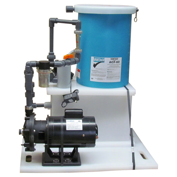 Vantage ACF60 Feeder For Cal Hypo Tabs Up To 200K Gallons With Pump - 60 lb. Capacity E023060S