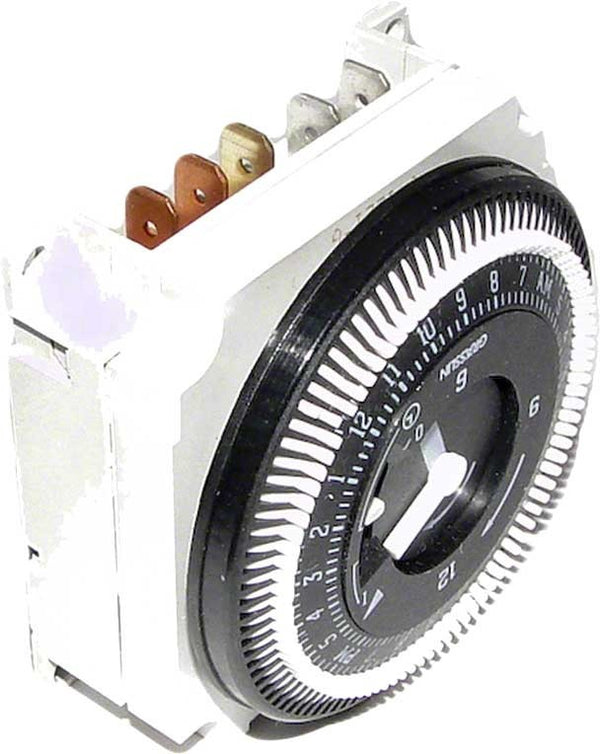 Intermatic Panel Mount 24-Hour Timer Clock With Override - 120 Volts SPDT FM1STUZH120
