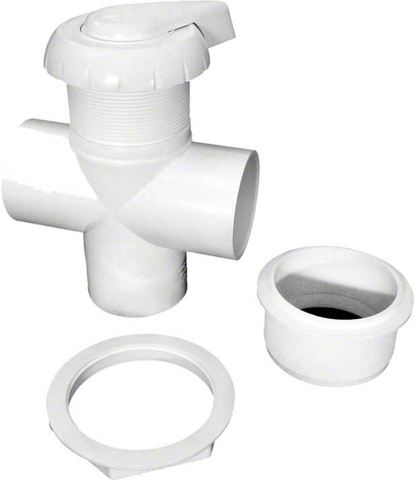3-Way Hydro-flow Diverter Valve - 2 Inch - White HA114000